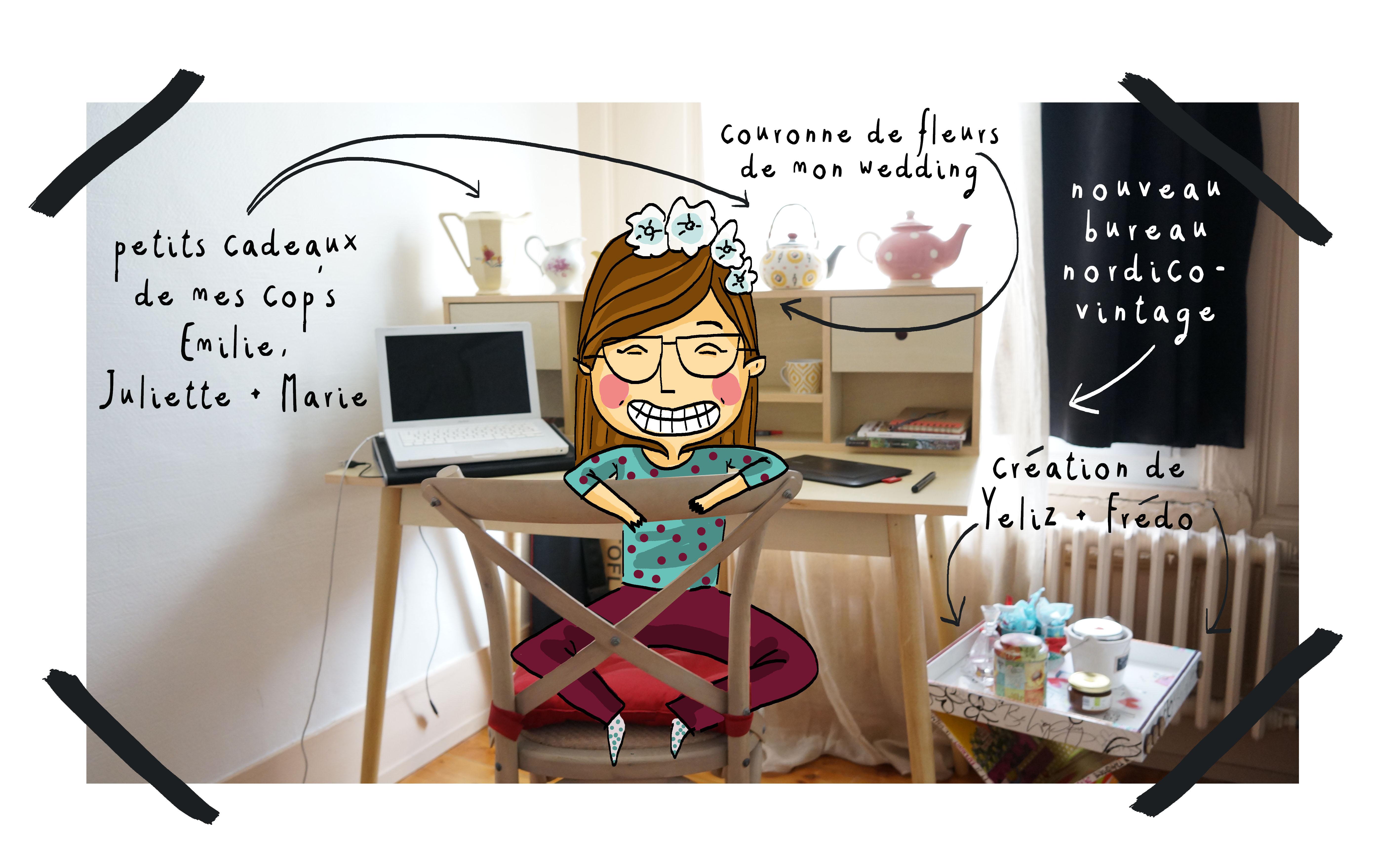 petit instantan cocooning bon week end et bienvenue bureau nordique wonder tiffany. Black Bedroom Furniture Sets. Home Design Ideas